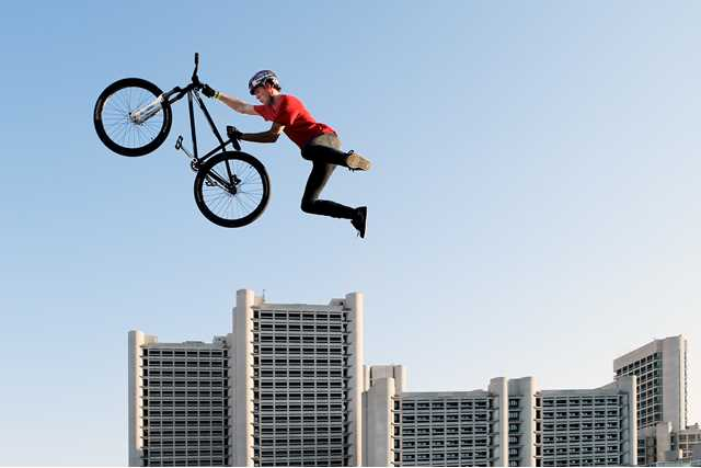 Flying with a bicycle